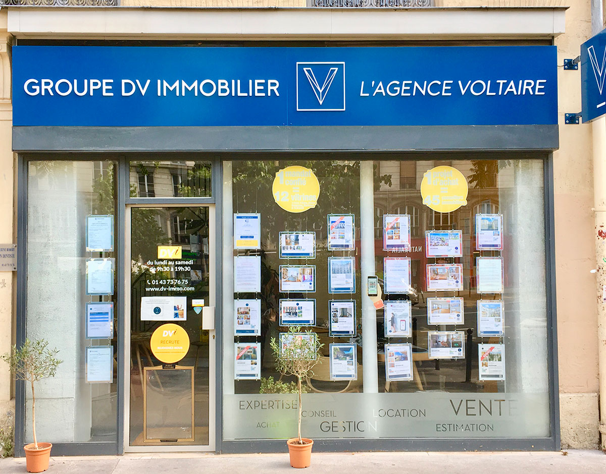 DV IMMOBILIER - Voltaire