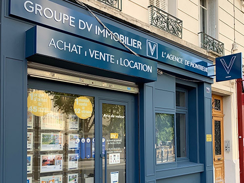 DV IMMOBILIER - Montreuil